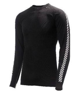 Helly Hansen Dry Stripe Crew Negro Helly Hansen Camisetas técnicas montaña Textil montaña Tallas: s, m, l; Color: negro