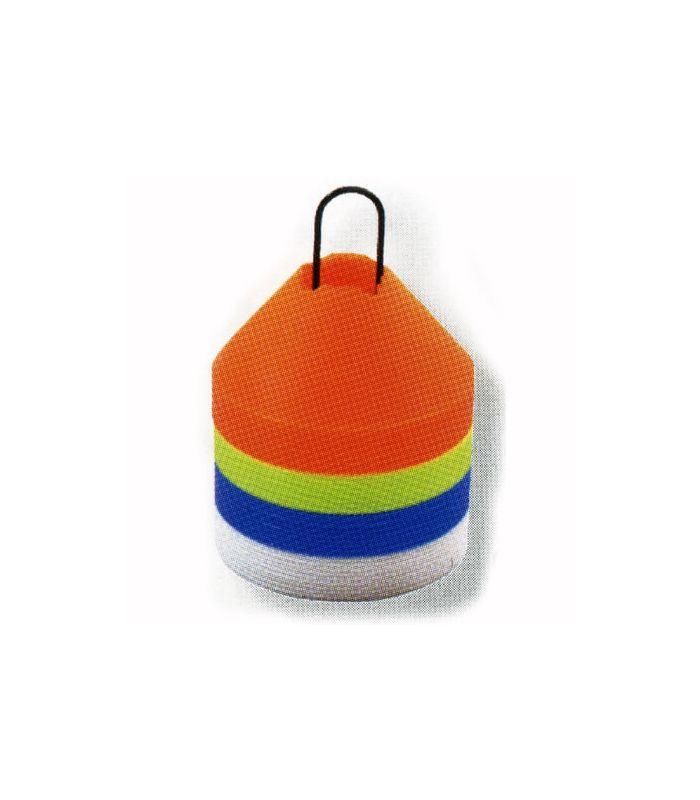 Accesorios Baloncesto - Set 40 conos azul Baloncesto