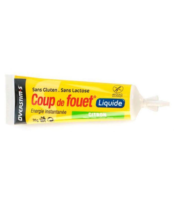 Overstims Gel Coup de Fouet liquid Red Fruits - Food Running