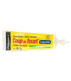 Overstims Gel Coup de Fouet liquid Lemon - Food Running