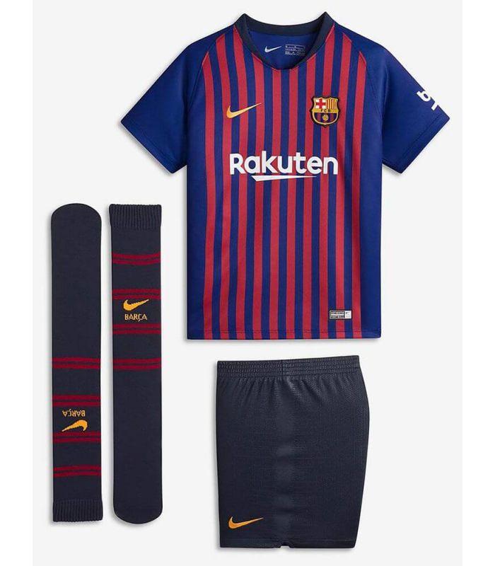 8d2cd088725 Nike football shirt 2018 19 FC Barcelona Home Kit. Click para ampliar