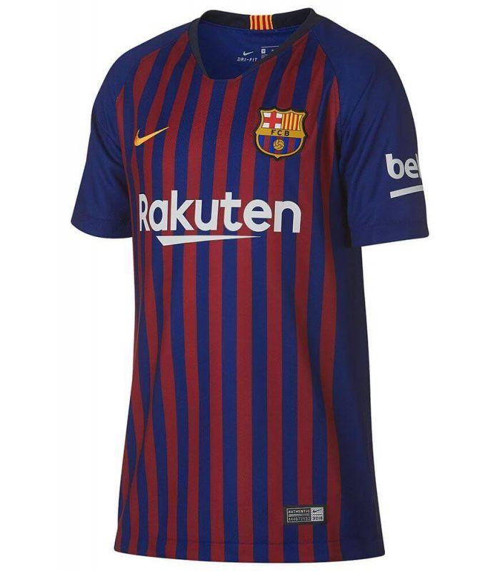 Nike camiseta de fútbol 2018/19 FC Barcelona Home Youth