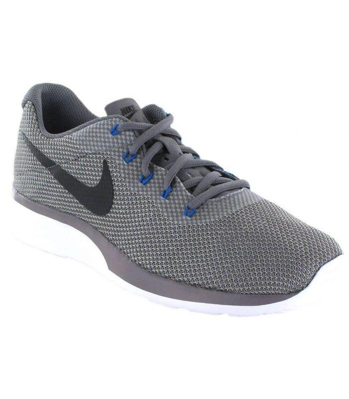 eb6c0ef9842 Zapatillas Nike Tanjun Racer Gris-Azul