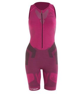 Lurbel Trail Pro W Fucsia Camisetas Técnicas Trail Running