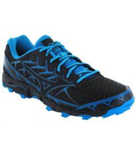 Mizuno Wave Hayate 4 Azul Zapatillas Trail Running Hombre