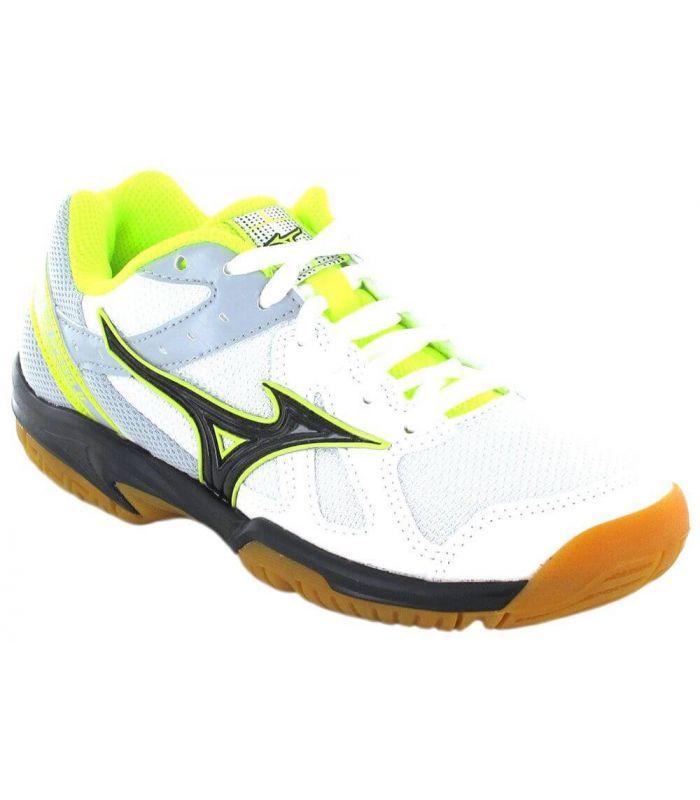 Mizuno Cyclone Speed Jr Mizuno Calzado Indoor Calzado Tallas: 34,5, 35, 38, 32,5, 33, 34, 37; Color: blanco