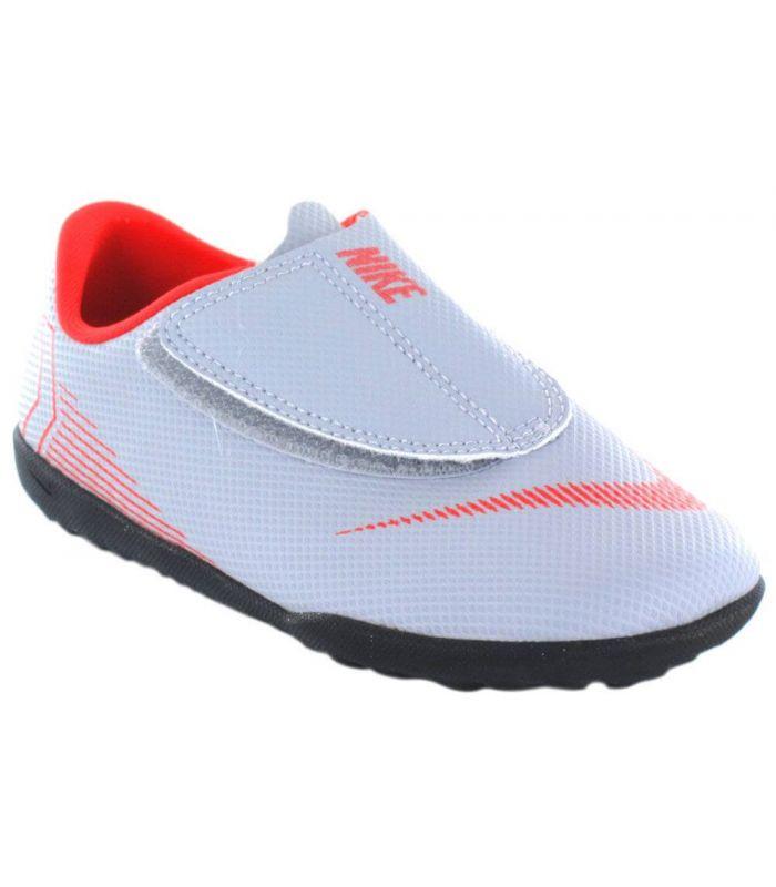 Nike Jr Vapor 12 Club PS Gris Nike Botas multi tacos Fútbol Tallas: 28; Color: gris