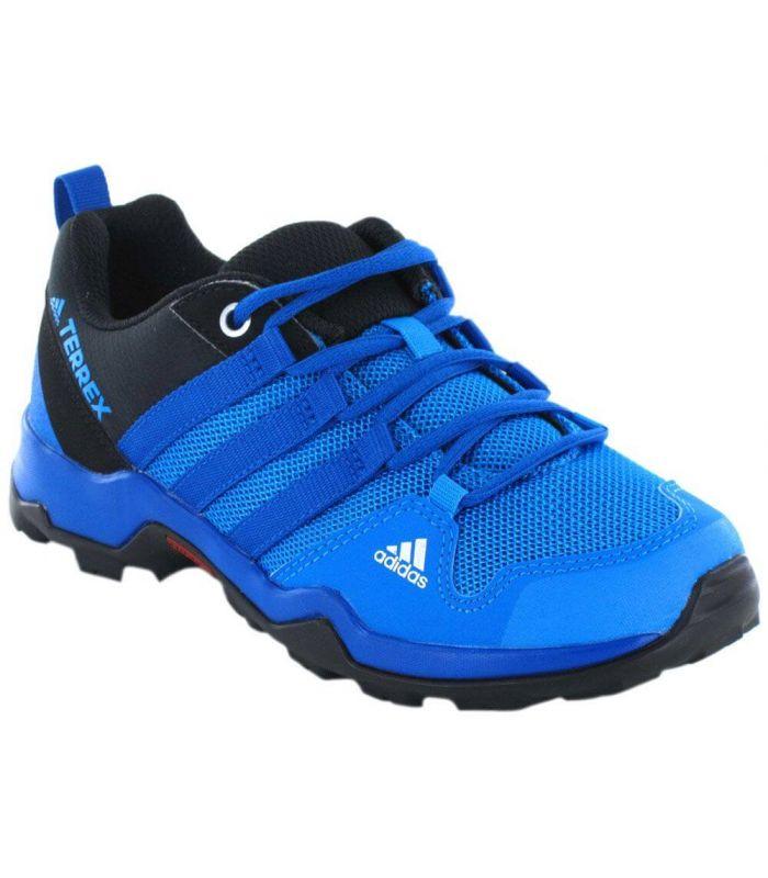 Adidas AX2R K Azul Adidas Zapatillas Trekking Niño Calzado Montaña Tallas: 28; Color: azul
