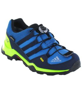Adidas Terrex GTX Azul - Zapatillas Trekking Niño - Adidas azul 28, 33