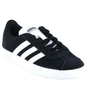 Laufschuhe Lifestyle Adidas VL Court 2.0 K Schwarz