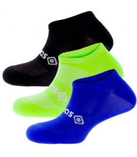 Calcetines Running - Izas Calcetines Argel Pack negro Zapatillas Running