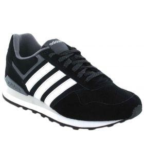 Adidas 10K - Calzado Casual Hombre - Adidas negro 40 2/3, 44 2/3