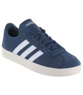 Adidas VL Court 2 Blue - Calzado Casual Hombre - Adidas azul 40 2/3, 41 1/3, 42, 42 2/3