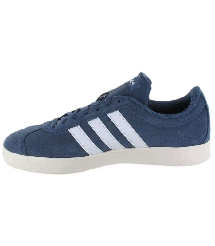 Calzado Casual Hombre - Adidas VL Court 2 Blue azul Lifestyle
