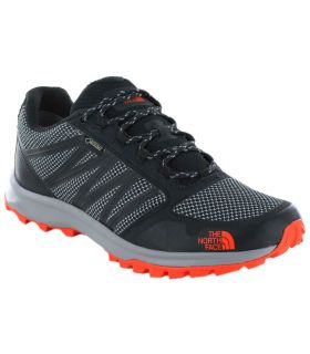 The North Face Litewave Fastpack GTX Graphic Naranja - Zapatillas Trekking Hombre - The