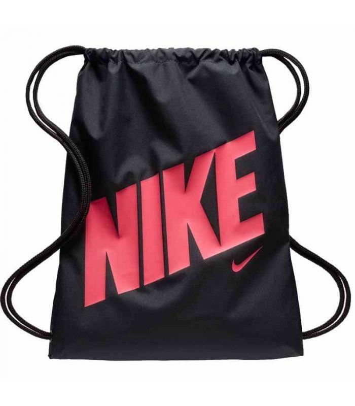 Nike Graphic Gymsack Negro Fucsia - ➤ Bolsas
