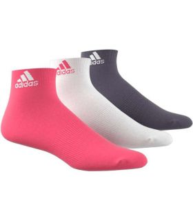 Adidas Calcetines Cortos Performance Rosa Calcetines Running