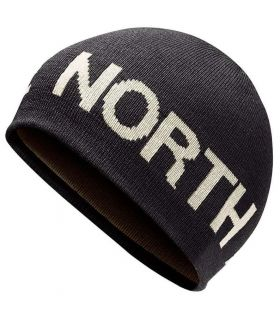 The North Face Gorro Reversible Banner Gris