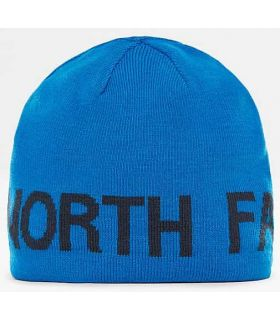 La Face Nord Chapeau Réversible Bannière Bleu