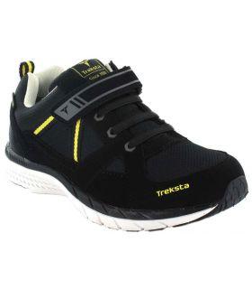 Zapatillas Trekking Niño - Treksta Jr Trail Gore-Tex negro Calzado Montaña