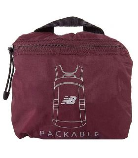 New Balance Packable Backpack Garnet