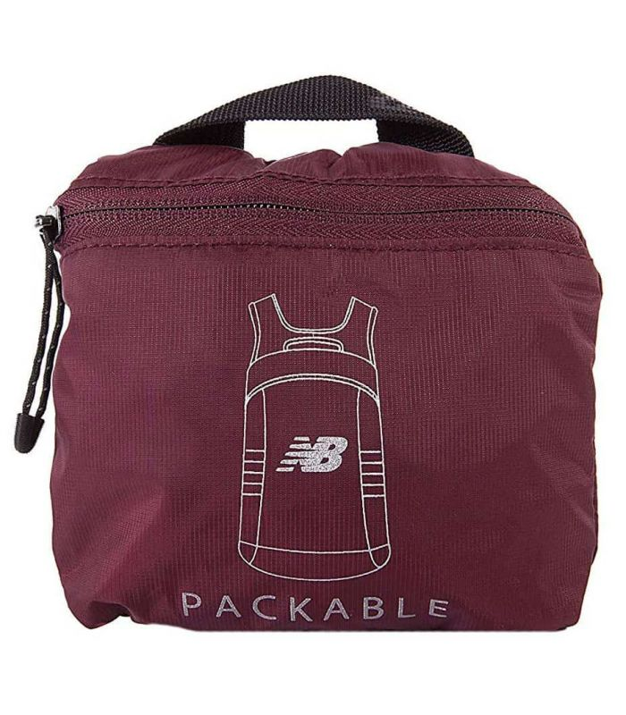 New Balance Packable Backpack Garnet - Backpacks - Bags
