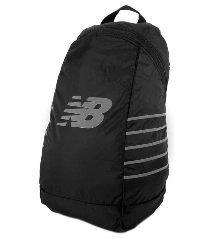 New Balance Packable Backpack Black - Backpacks - Bags