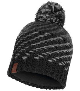 Buff Cap Buff Nella Negro Buff Gorros - Guantes Textil montaña Color: negro