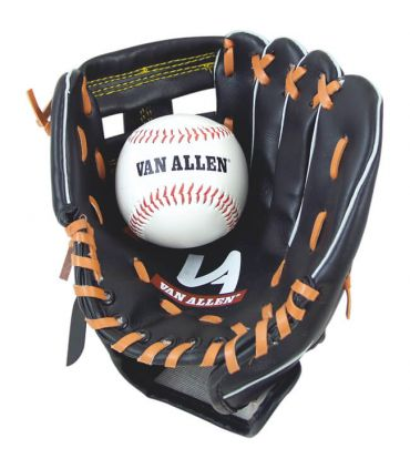 Guante catcher junior + pelota goma