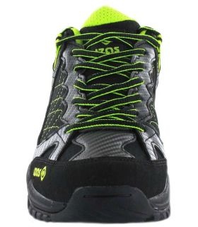 Zapatillas Trekking Hombre - Izas Nilsen negro Calzado Montaña