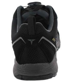 Treksta Star 102 Boa Gore-Tex TrekSta Zapatillas Trekking Hombre Calzado Montaña Tallas: 44, 44,5, 46; Color: negro