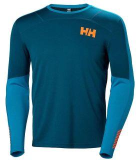 Helly Hansen Lifa Active Crew - Camisetas técnicas montaña - Helly Hansen azul marino m