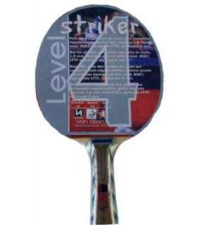 Van Allen Pala Ping Pong Striker Van Allen Palas Tenis Mesa Tenis Mesa Color: rojo
