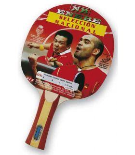 Enebe Pala Ping Pong Seleccion Española 600 Enebe Mesas tenis Mesa interior Tenis Mesa Color: rojo