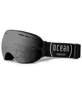 Ocean Cervino Smoked Black Ocean Sunglasses Mascaras de Ventisca Gafas Sol Color: negro