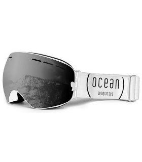 Ocean Cervino Smoke White Ocean Sunglasses Mascaras de Ventisca Gafas Sol Color: negro