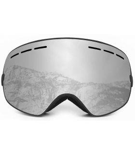 Ocean Cervino Silver Black Ocean Sunglasses Mascaras de Ventisca Gafas de Sol Color: gris