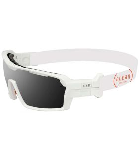 Ocean Chamaleon Mate White / Smoke Ocean Sunglasses Gafas de Sol Sport Gafas de Sol Color: blanco