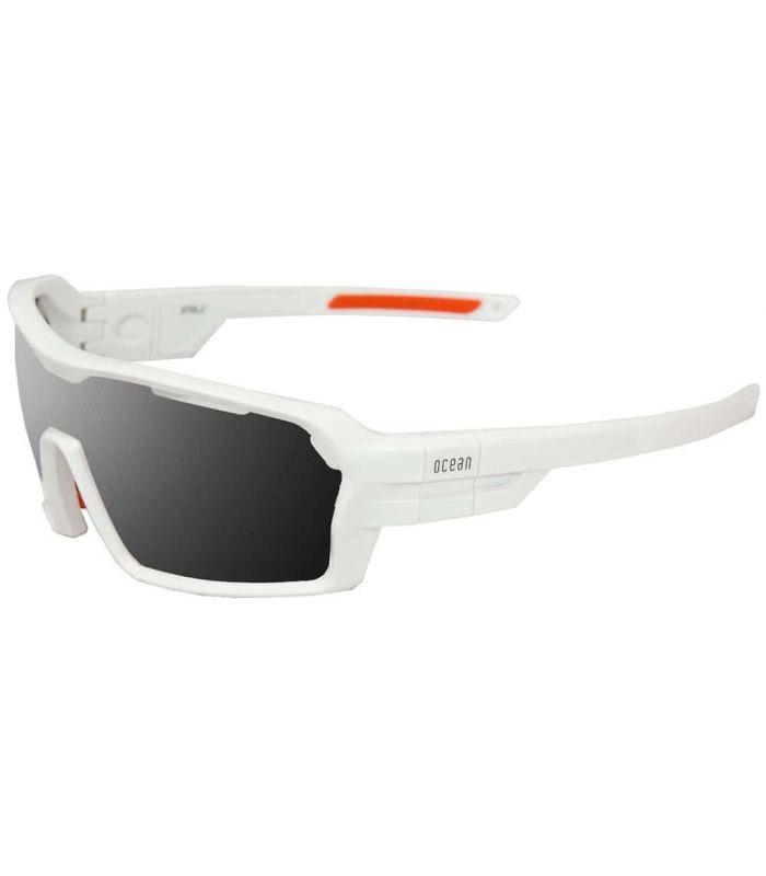 Ocean Chamaleon Matte White / Smoke - Sunglasses Sport