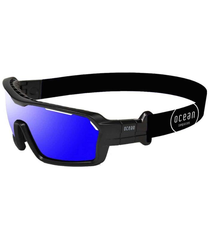 Ocean Chamaleon Mate Black / Revo Blue Ocean Sunglasses Gafas de Sol Sport Gafas de Sol Color: negro