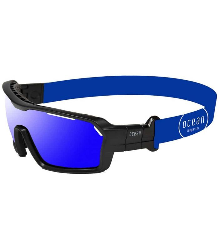 Ocean Chamaleon Shinny Black / Revo Blue - Sunglasses Sport