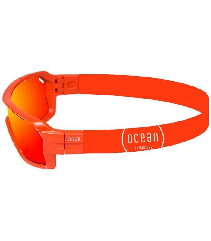 Ocean Chamaleon Matte Red / Revo Red Ocean Sunglasses Gafas de Sol Sport Gafas de Sol Color: rojo