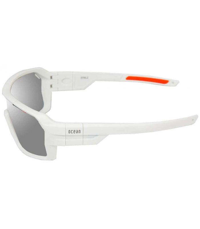Ocean Chamaleon Matte White / Revo White - Sunglasses Sport