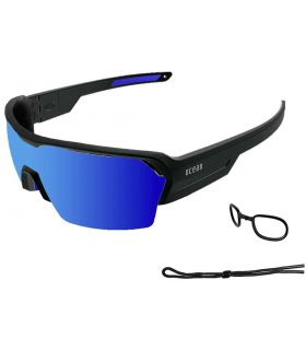 Ocean Race Matte Black / Revo Blue