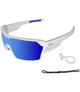 Ocean Race Matte White / Blue Revo