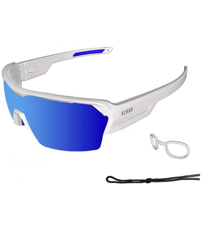 Ocean Race Blanc Mat / Revo Bleu