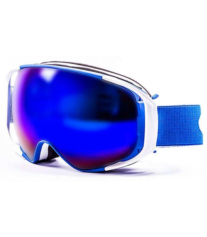 Ocean Snowbird Blue White / Revo Blue Ocean Sunglasses Mascaras de Ventisca Gafas de Sol Color: azul