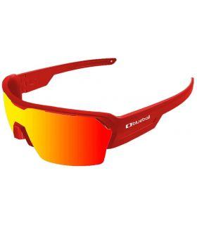 Blueball Aizkorri Matte Red / Revo Red Blueball Gafas de Sol Sport Gafas Sol Color: rojo