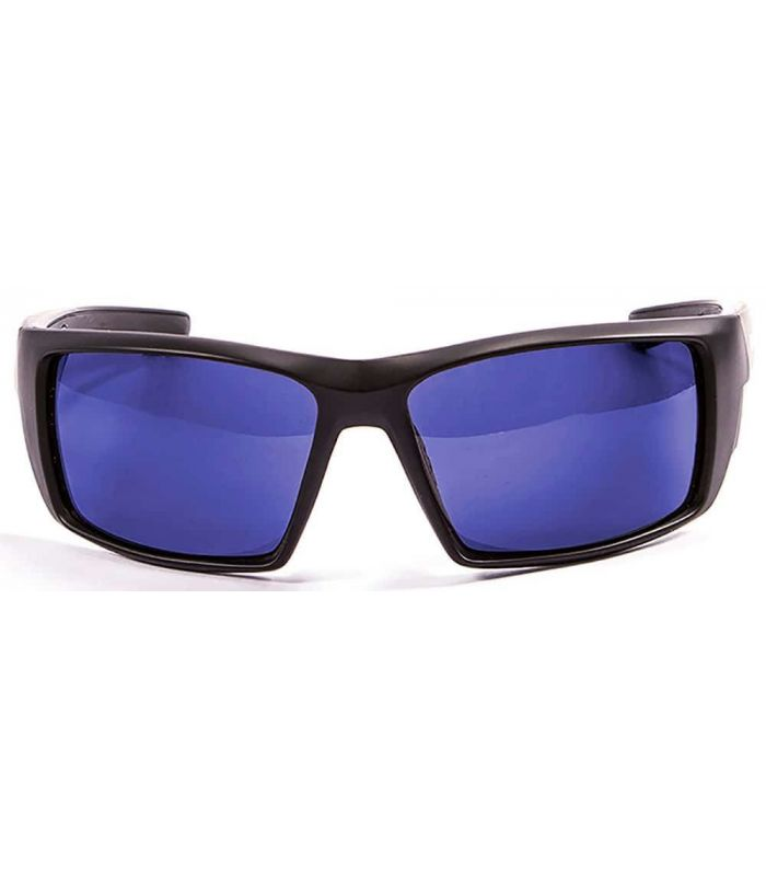 Blueball Monaco Matte Black / Revo Blue - Sunglasses Sport