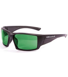 Blueball Monaco Matte Black / Revo Green